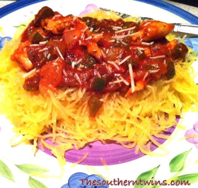 SpaghettiSquashPlate