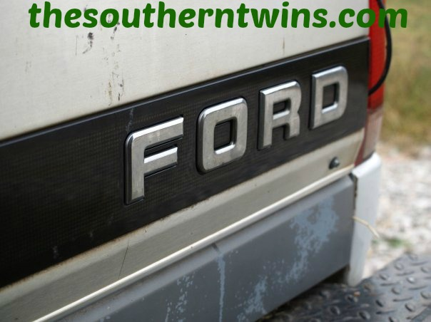 The Old Ford Truck